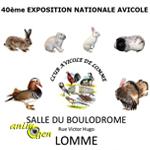 40 ème Exposition Avicole à Lomme (59), du vendredi 17 au dimanche 19 octobre 2014
