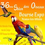 36 ème Salon des oiseaux Bourse-Expo à Noeux les Mines (62), du vendredi 03 au dimanche 05 octobre 2014