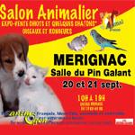 39 ème Salon animalier «Animal Focus» à Mérignac (33), du samedi 20 au dimanche 21 septembre 2014