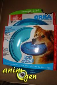 Jouet pour chiens:frisbee Orka Flyer, Petstages (test, avis, prix)