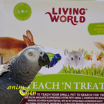 Le Teach and treat (Living World), un jeu qui stimule l'intellect de nos rongeurs, lapins et perroquets