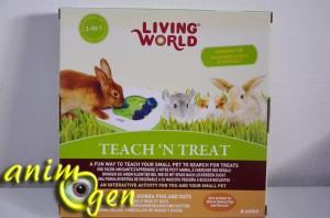 Le Teach and treat (Living World), un jeu qui stimule l'intellect de nos rongeurs, lapins et perroquets