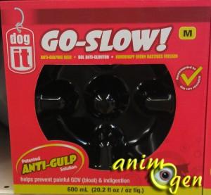 Accessoire pour chien : gamelle pour anti-étouffement Go Slow (Dog It)