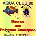 Bourse aux poissons exotiques à Montdidier (80), le dimanche 12 octobre 2014