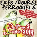 Expo/Bourse Perroquets à Weitbruch (67), du samedi 1 er au dimanche 02 novembre 2014