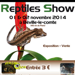 Reptile Show à Béville le Comte (28), du samedi 01 er au dimanche 02 novembre 2014