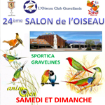 24 ème Salon de l'Oiseau et Bourse aux oiseaux à Gravelines (59), du samedi 22 au dimanche 23 novembre 2014