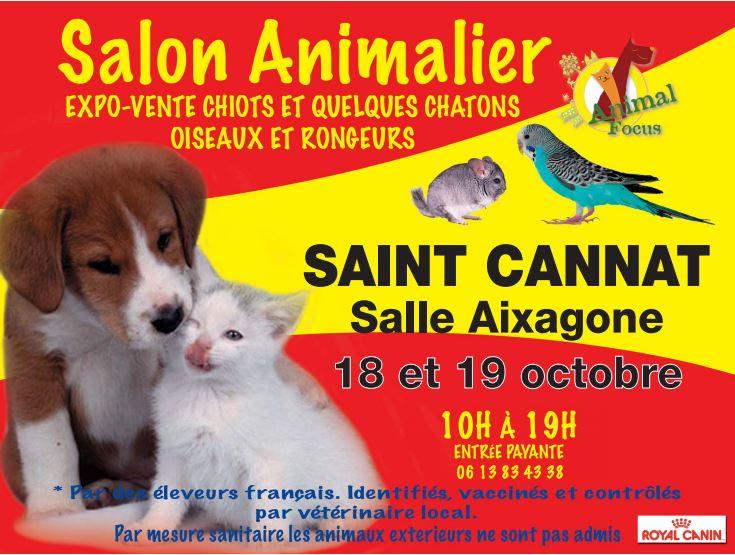 Salon Animal Focus à Saint Cannat (13),du samedi 18 au dimanche 19 octobre 2014