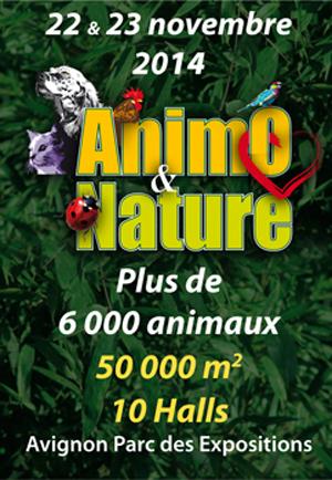 Salon Animo & Nature en Avignon (84), du samedi 22au dimanche 23 novembre 2014