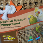 Jouet pour perroquet : Natural Wave Playground, Bird Life (Penn Plax)