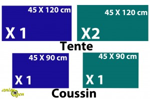 Fabriquez une tente pour vos furets (tutoriel, test, prix)