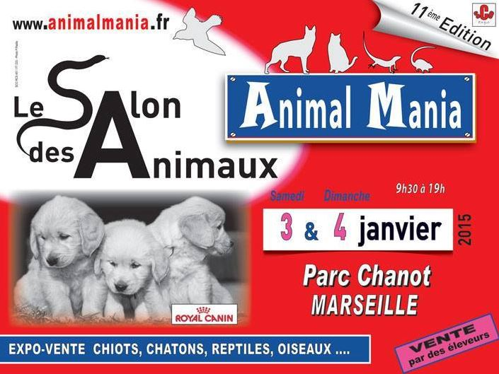 Salon animal mania marseille 13 du samedi 03 au for Salon parc chanot