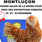 Grand salon de la basse-cour à Montluçon (31), du samedi 29 au dimanche 30 novembre 2014