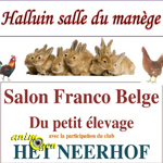 Salon Franco Belge du petit élevage à Halluin (59), du samedi 29 au dimanche 30 novembre 2014