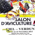 Salon d'aviculture à Ciel-Verdun (71), du vendredi 21 au dimanche 23 novembre 2014