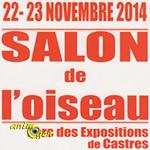 Salon de l'oiseau à Castres (81), du samedi 22 au dimanche 23 novembre 2014