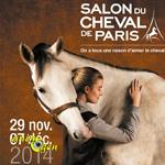 Salon du Cheval à Paris (93), du samedi 29 novembre au dimanche 07 décembre 2014