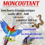 3 ème Bourse d'oiseaux exotiques, reptiles et rongeurs à Moncoutant (79), le dimanche 25 janvier 2015