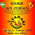 Bourse d'Oiseaux à Dourges (62), du samedi 10 au dimanche 11 janvier 2015