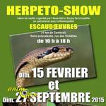 5 ème Herpeto-Show à Escaudoeuvres (59), dimanche 15 février et dimanche 27 septembre 2015