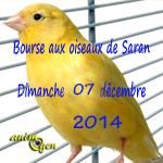 Bourse aux oiseaux à Saran (45), le dimanche 07 décembre 2014