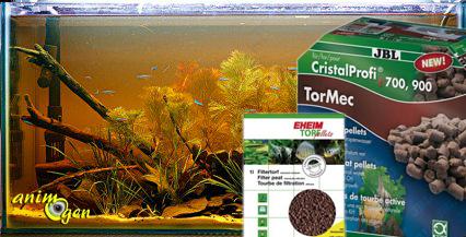 La filtration sur tourbe dans un aquarium d eau douce int r t et utilisatio - Ou mettre le filtre a charbon ...