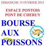 Bourse aux poissons à Pont de Cheruy (38), le dimanche 15 février 2015