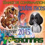Exposition Canine Internationale à Péronnas (01), ledimanche 25 janvier 2015