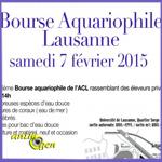 Bourse aux poissons à Lausanne (Suisse), le samedi 07 février 2015