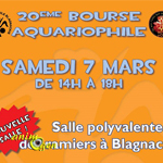 20 ème Bourse aquariophile à Blagnac (31), le samedi 07 mars 2015