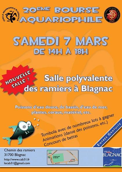 Recifal france bourse blagnac 2015 les adresses vpc for Vpc aquariophilie