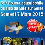 6 ème Bourse CAMAQUA eau douce et eau de mer au Mée sur Seine (77), le samedi 07 mars 2015