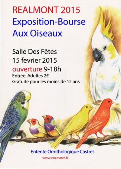 Bourse aux oiseaux r almont 81 le dimanche 15 f vrier - Entree gratuite salon agriculture 2015 ...
