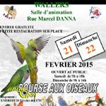 Bourse aux Oiseaux à Wallers Arenberg (59), du samedi 21 au dimanche 22 février 2015