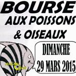 65 ème Bourse aux poissons, oiseaux et matériels à Reims (51), le dimanche 29 mars 2015