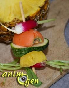 Alimentation : l'ananas, un fruit au parfum d'Amérique dans l'auget de nos perroquets