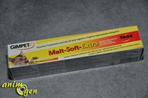 Alimentation et santé : Malt-Soft-Extra, pour l'élimination des boules de poils chez les chats (Gimpet, Gimborn)