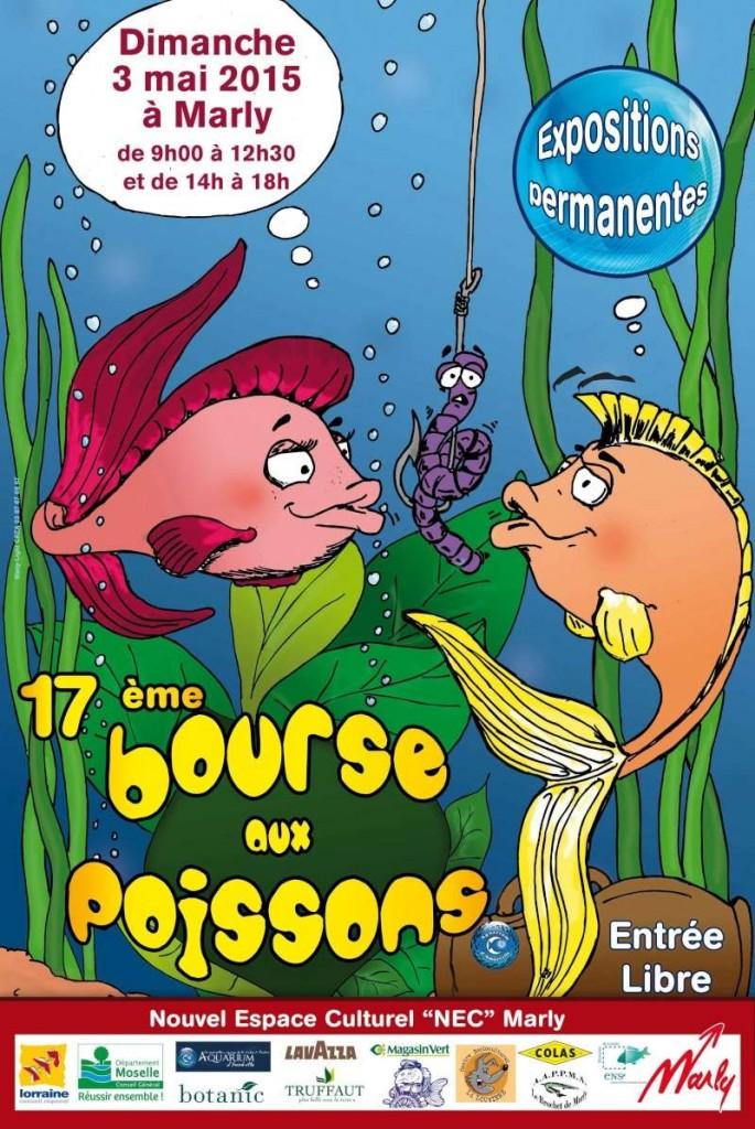 17 ème Bourse aux poissons à Marly (57), le dimanche 03 mai 2015