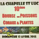 10 ème Bourse aux poissons, coraux et plantes à la Chapelle Saint Luc (10), le dimanche 12 avril 2015