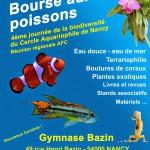 Bourse aux poissons, terrariophilie et plantes à Nancy (54), le dimanche 12 avril 2015