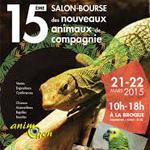 15 ème Salon des Nouveaux Animaux de Compagnie à la Broque (67), du samedi 21 au dimanche 22 mars 2015