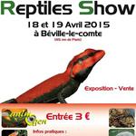Reptile Show à Béville le Comte (28), du samedi 18 au dimanche 19 avril 2015
