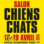 Salon des chiots et chatons à Paris (75), du samedi 18 au dimanche 19 avril 2015
