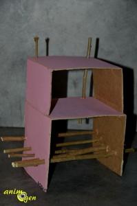 Fabriquez une cabane avec aire de jeu pour vos rongeurs sans colle ni scotch (tutoriel, test, avis, prix)