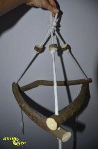 Accessoire pour perroquet : fabriquez un perchoir pyramidal (tutoriel, test, avis, prix)