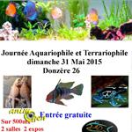 Journée Aquariophile et Terrariophile à Donzère (26), le dimanche 31 mai 2015