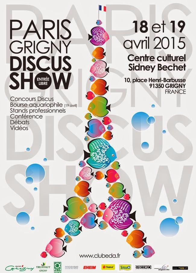 Paris Grigny Discus Show à Grigny (91), du samedi 18 au dimanche 19 avril 2015