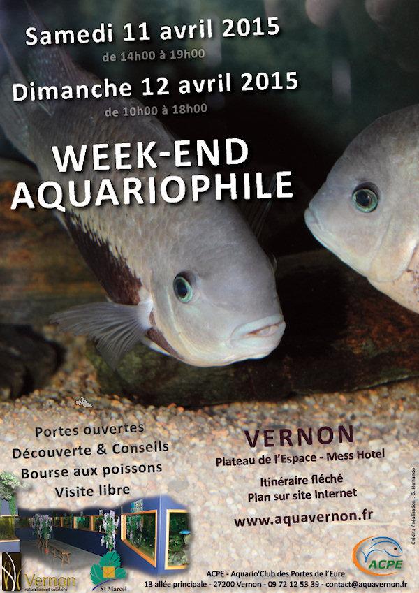 Bourse aux poissons et week-end portes ouvertes à Vernon (27), du samedi 11 au dimanche 12 avril 2015