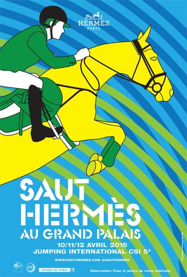 Saut Hermès au Grand Palais, à Paris (75), les vendredi 10, samedi 11 et dimanche 12 avril 2015