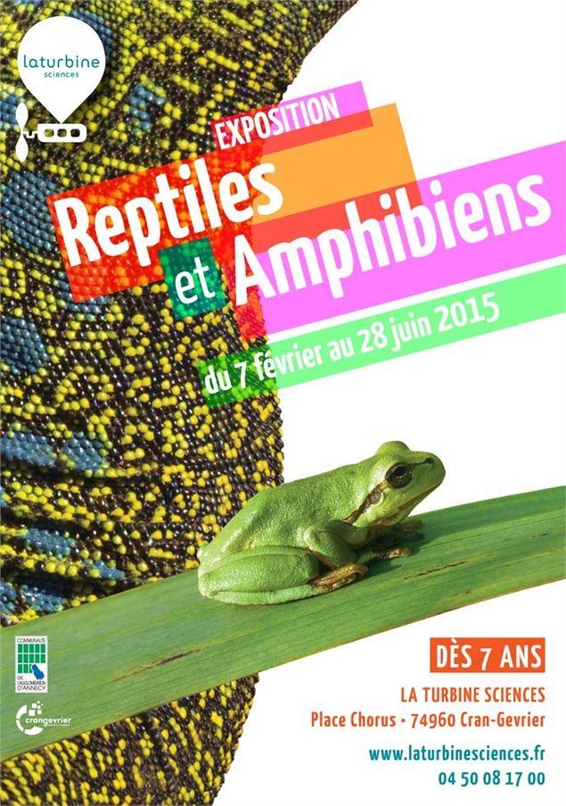 Exposition reptiles et Amphibiens à Cran Gevrier (74), du 07 février au 28 juin 2015